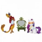 Jucarie My Little pony Styling Friends Rarity si Capper Dapperpaws E2246 Hasbro
