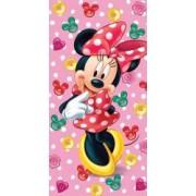 Prosop de plaja copii Disney Minnie Mouse