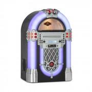 Auna Kentucky, jukebox, BT, radio FM, USB, SD, MP3, CD player, alb (BX-Kentucky)