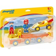 Playmobil 6761 1.2.3 Racing Car with Transporter