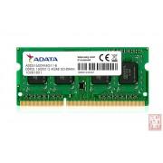 DDR3 SO-DIMM 8GB AData, 1600MHz, CL11 (ADDS1600W8G11-S)