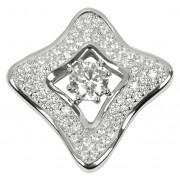 Silver Cat Pandantiv din argint cu cristale SC068