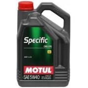 MOTUL Specific CNG / LPG 5W40 - 5L