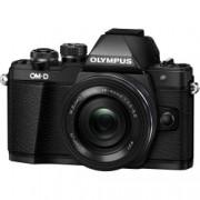 Olympus OM-D E-M10 Mark II Aparat Foto Mirrorless 16MP MFT Full HD Kit cu Obiectiv EZ-M 14-42mm F3.5-5.6 Negru