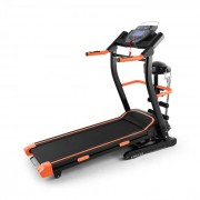 Pacemaker FX5 Passadeira Treadmill Monitor Ritmo Cardíado Massagens Abdominais 1,5 PS 12 km/h Laranja
