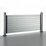 Novus Trennwand SlatWall 80 Komplettlösung Länge 80 cm