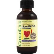 Liquid Iron 10 mg x 118.50 ml sirop cu gust de fructe ChildLife Secom