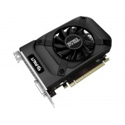 Видеокарта Palit GeForce GTX 1050 Ti StormX 1290Mhz PCI-E 3.0 4096Mb 7000Mhz 128 bit DP DVI HDMI NE5105T018G1-1076F