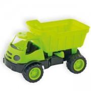 Детски самосвал в кутия с гумени колела, 10175 Mochtoys, 5907442101751