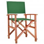 Fotel Krzesło Reżyserskie Zielony Do Ogrodu Taras
