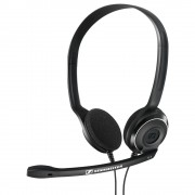HEADPHONES, Sennheiser PC 8, Microphone, Black (504197)