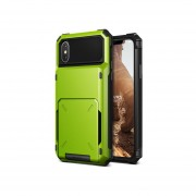 Funda IPhone X Xs USO RUDO Marca VRS DESIGN (VERUS) Modelo Damda Folder - Verde