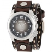 Nemesis Unisex 091KDTB Elegant Gradient Design Leather Band Watch