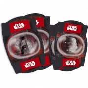 Set protectie cotiere/genunchiere Star Wars Disney Eurasia, 3- 8 ani