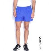 Adidas Blue Polyester Running Shorts