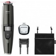 Masina de tuns barba Philips BT9297-15 Ghidaj Laser 0.4 - 7mm 17 Trepte Rezistent la apa LED Negru-Argintiu