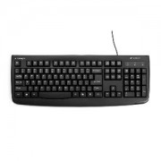 WASHABLE KEYBOARD (ANTIMICROBIAL)-BLACK