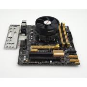 Placa de baza ASUS B85M-E + Intel Haswell Core i5 4430 + cooler