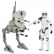 Star Wars Figurine 30 cm avec véhicule Star Wars - Assault Walker