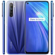 "Telefon Mobil Realme 6, Procesor Octa-Core Mediatek MT6785 Helio G90T, IPS LCD capacitive touchscreen 6.5"", 6GB RAM, 128GB Flash, Camera Quad 64+8+2+2MP, Wi-Fi, 4G, Dual Sim, Android (Albastru) + Cartela SIM Orange PrePay, 6 euro credit, 6 GB internet 4G,"