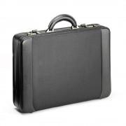 Geanta diplomat, imitatie piele, husa laptop 15.6 inch detasabila, FALCON