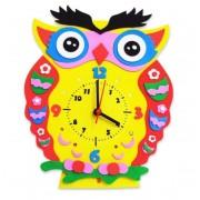 Набор для творчества Часы Сова