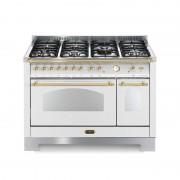 LOFRA RBPD126MFT + et / 2AEO White Pearl cuisine 120 X 60 avec brûleurs à gaz en acier inoxydable-7 dont 2 double haute efficac