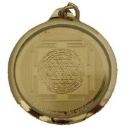 Shree Yantras Locket 24ct gold plated