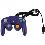 ER 1pc New Game Pad Controller Joystick Para Nintendo GameCube O Para Wii (Plata).