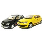 Volkswagen Polo Car (Set of 2) (Yellow - Black)