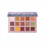 Paleta trusa de farduri Focallure GO Travel Paris cu 15 culori mate metalice shimmery si oglinda FA1001