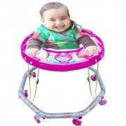 Oh Baby Baby Pink Color Musical Walker For Your Kids DER-HYT-SE-W-44