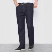 Stretch comfort jeans met elastische taille L1