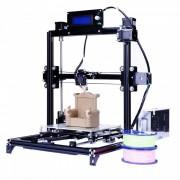 flsun 3D auto nivelacion i3 3D impresora kit con cama caliente dos rollos de filamento SD (AU plug)