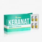 Keranat Max Beauty Hair 150mg Tratamento capilar 60 Cáps