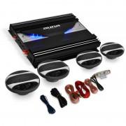 "Auna 4.0 HiFi автомобилен комплект ""Platin Line 420"", усилвател, високоговорители (PL-4.0-BL-420)"