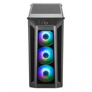Gabinete Cooler Master Masterbox MB530P, RGB negro, ATX, sin fuente