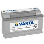 Varta Silver Dinamic 12V 100Ah 830A 600402 autó akkumulátor jobb+
