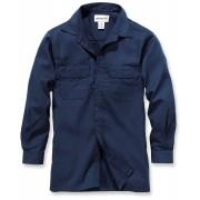 Carhartt Twill Long Sleeve Work Hemd Blau L