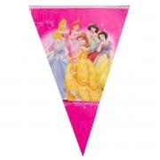 Banner stegulete Princess pentru party