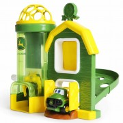 John Deere Playset and Vehicle Rev Up Barnhouse