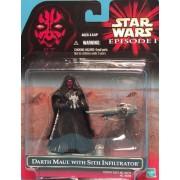 Star Wars Episode 1 Darth Maul With Mini Sith Infiltrator