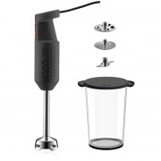 Bodum BISTROSET Set pied mixeur électrique, avec accessoires, 300 W Noir