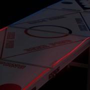 StudyShop Beer Pong Bord (med LED-lampor)