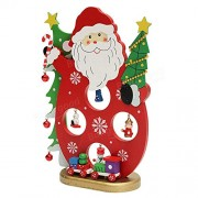 Tradico Christmas Party Home Decoration Santa Claus Snowman Table Ornaments Toys for Kids Children Gift