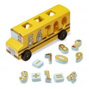 Autobuzul cu numere - Invata cifrele