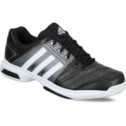 ADIDAS BARRICADE APPROACH STR Tennis Shoes For Men(White, Black, Grey)