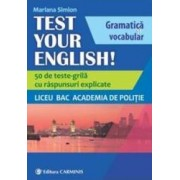 Test Your English - Mariana Simion