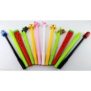 Oytra Pens Combo | Cute Stylish Designs | 0.38 mm Gel Pen | Set of 12 Pens