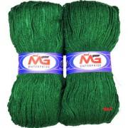 M.G MicroShine Leaf Green 200 gm hand knitting Soft Acrylic yarn wool thread for Art craft Crochet and needle